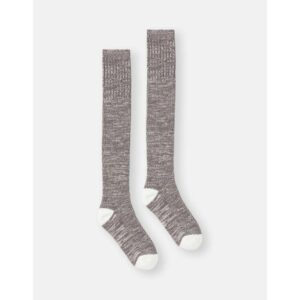 Joules Trussel Sock Knitted Sock Charcoal Grey