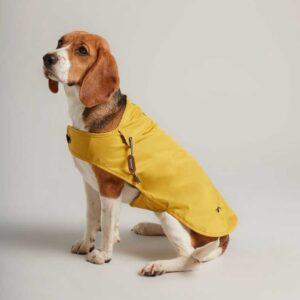 Joules Mustard Raincoat for Dogs