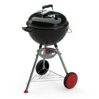 Weber Kettle Plus Charcoal Grill Barbecue 47cm (Black)