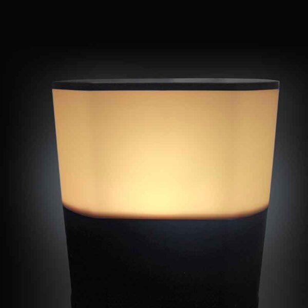 Kettler Ibiza Floor Standing Orange Light