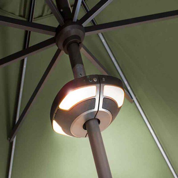 Kettler Outdoor LED Light & Wireless Bluetooth Speaker (for parasols)