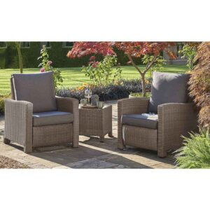 Kettler Palma Duo Relaxer Set in Rattan