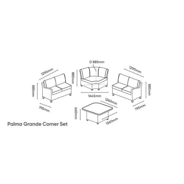Kettler Palma Grande Corner Set
