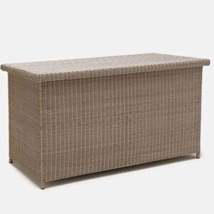 Kettler Palma Large Cushion Box in Rattan with Zip Liner
