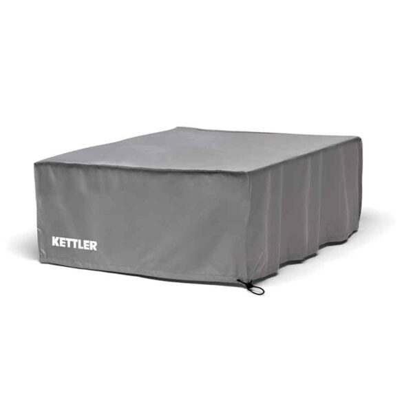 Kettler Palma Low Lounge Coffee Table Protective Cover in Grey