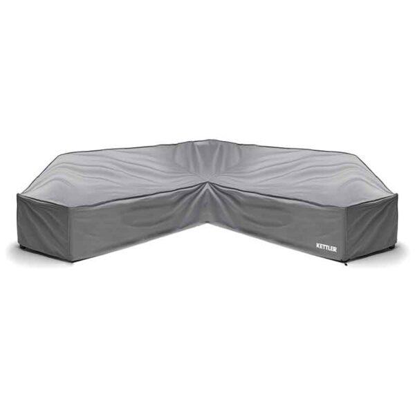 Kettler Palma Low Lounge Corner Sofa Grey Protective Cover