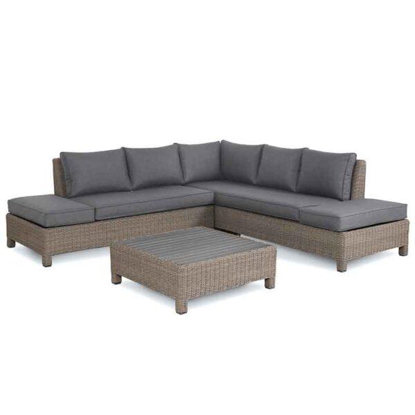 Kettler Palma Low Lounge Set in Rattan detail