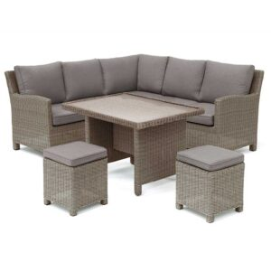 Kettler Palma Mini Corner Set with Table in Rattan