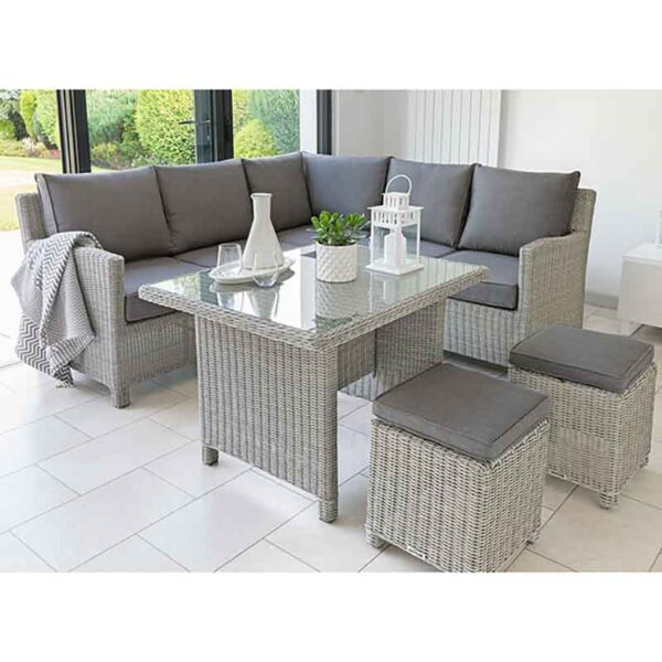 Kettler Palma Mini Corner Set with Table (not shown in Rattan)