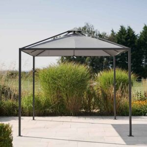 Kettler Panalsol Pagoda with Slate Grey Canopy (3m)