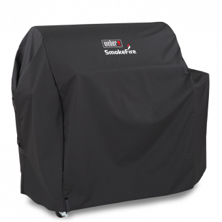 "Weber Barbecue Grill Premium Cover for SmokeFire EX6 GBS Wood Fired Pellet Grill 91cm / 36"" (Black)"