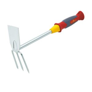 Wolf Garten Double Hoe with Fixed Handle (7cm)