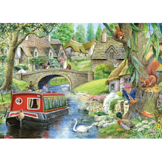 House Of Puzzles Taking It Easy 250 Piece Jigsaw