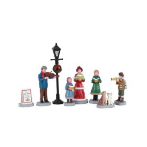 Lemax Baily's Music School Carolers - Set of 8