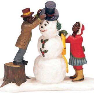 Lemax Dressing Mr Snowman