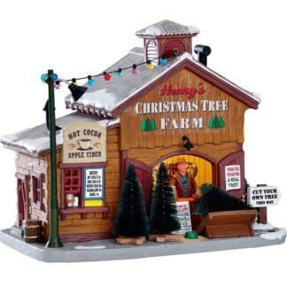 Lemax Henry's Christmas Tree Farm