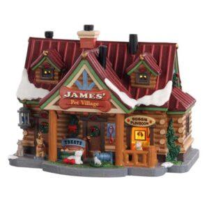 Lemax-James'-Pet-Village
