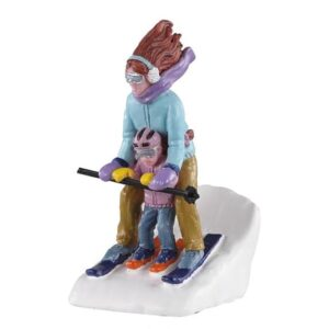 Lemax Mommy & Me Ski