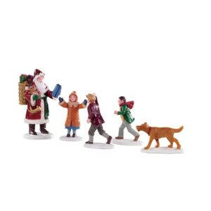 Lemax Papa Christmas! - Set of 5