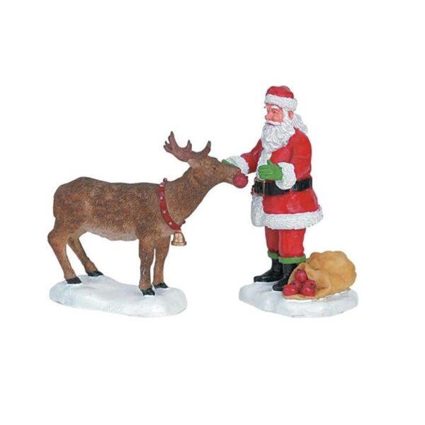 Lemax Reindeer Treats - Set of 2