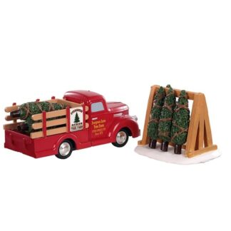 Lemax Tree Delivery - Set of 2