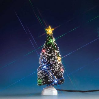 Lemax Christmas Tree with 12 Multi-Colour Lights