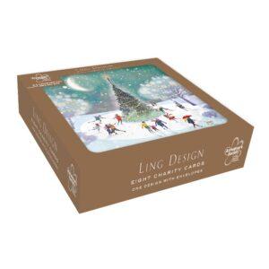 Ling Design Around The Tree Charity Box