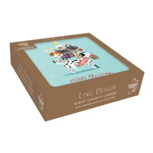 Ling Design Christmas Dog Tree Box