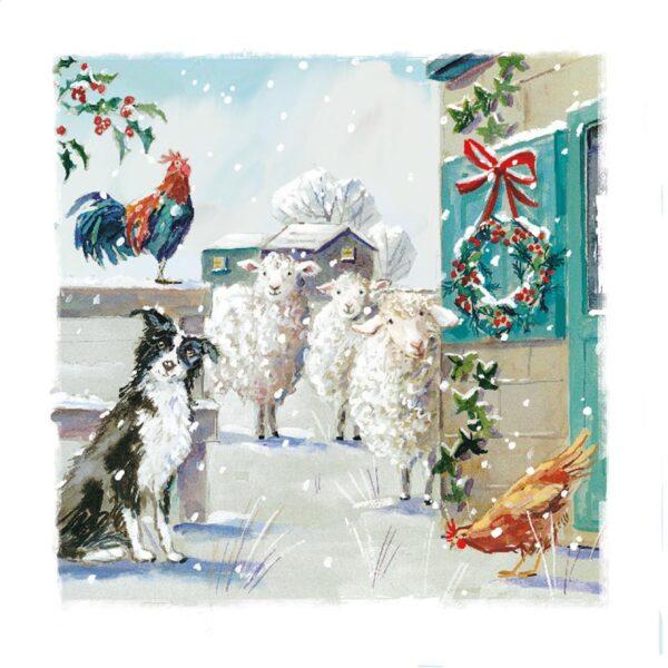 Ling Design Christmas Farmyard 1