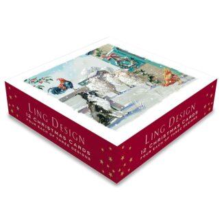 Ling Design Christmas Farmyard Box
