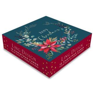 Ling Design Christmas Foliage Box