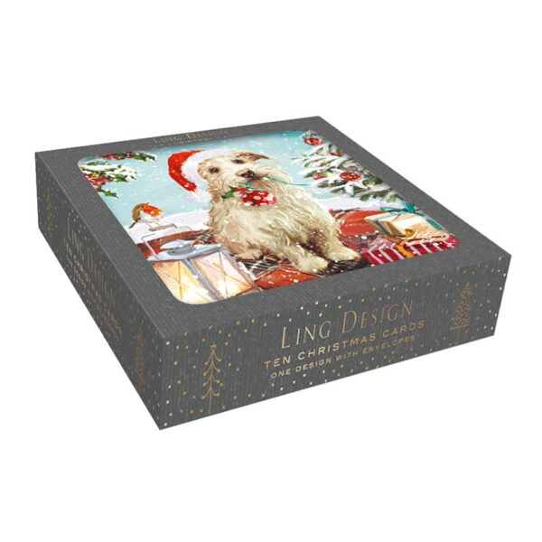 Ling Design Christmas Helper Box