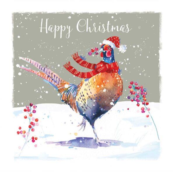 Ling Design Christmas Pheasant 1