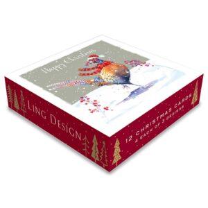Ling Design Christmas Pheasant Box