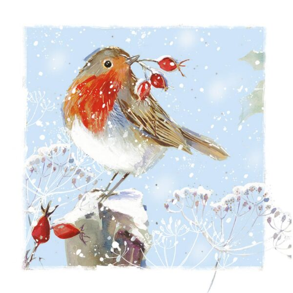 Ling Design Christmas Robin Charity 1