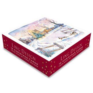Ling Design Christmas Scenes Box