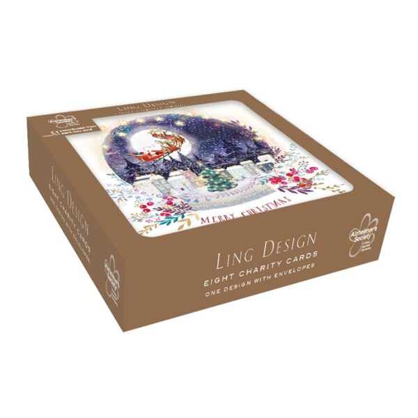 Ling Design Christmas Town Charity Box