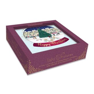 Ling Design Christmas Tree Shaker Box