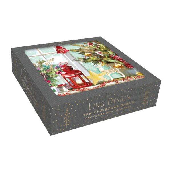 Ling Design Christmas Window Box