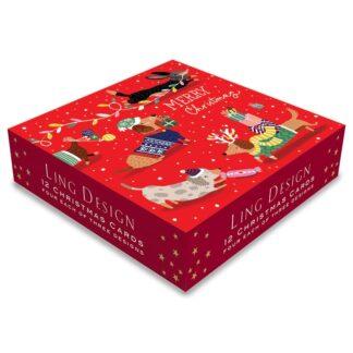 Ling Design Festive Doggies Box