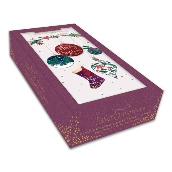 Ling Design Hanging Baubles And Stocking Box