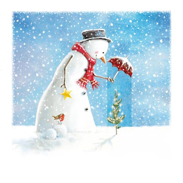 Ling Design Happy Snowman 1