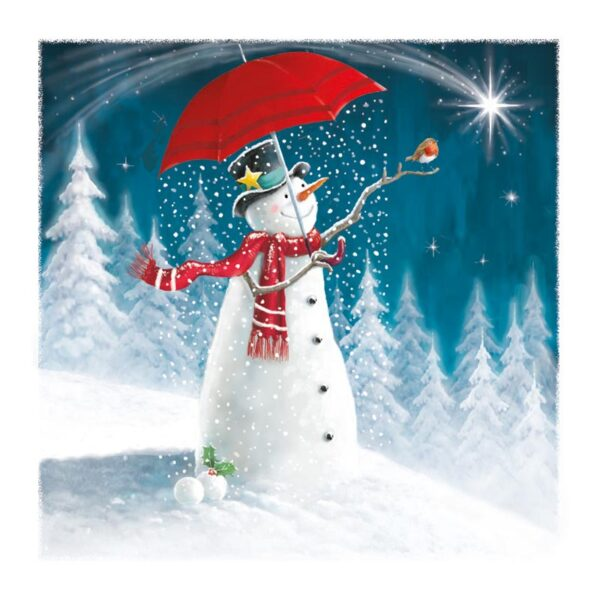 Ling Design Happy Snowman 3