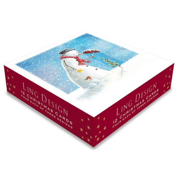Ling Design Happy Snowman Box