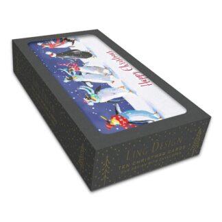 Ling Design Jolly Penguins Box