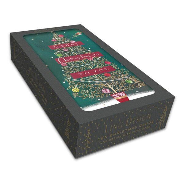 Ling Design Oh Christmas Tree Box