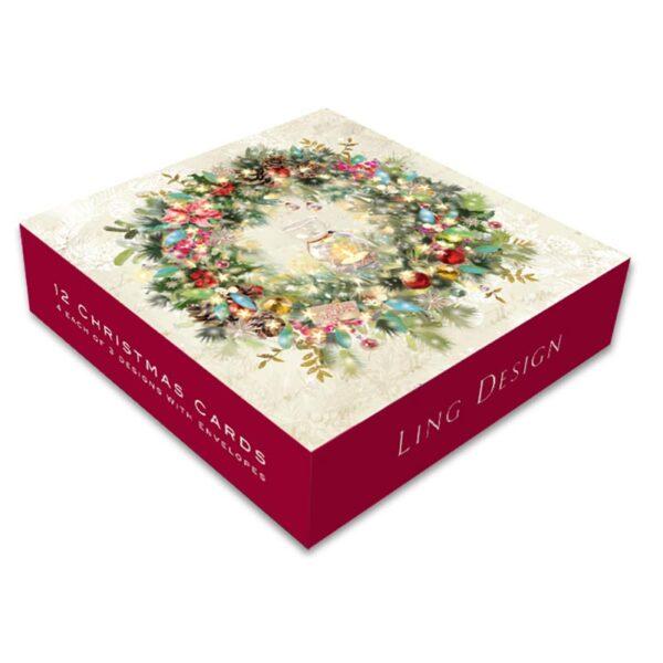 Ling Design Sparkly Christmas Box