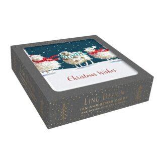 Ling Design Three Sheep Box