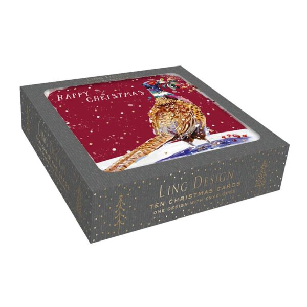 Ling Design Winter Pheasant Box