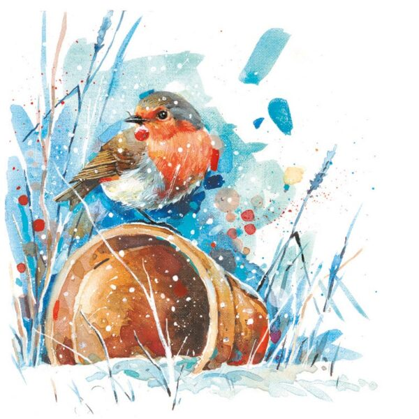 Ling Design Winter Robins 1